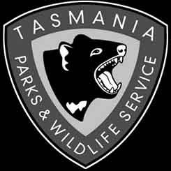 tasmania parks wildlife logo